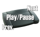 USB Media Player Foot Pedal