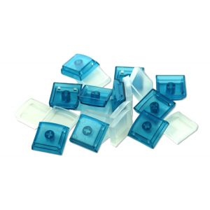 Blue Single Keycaps (10 pack)