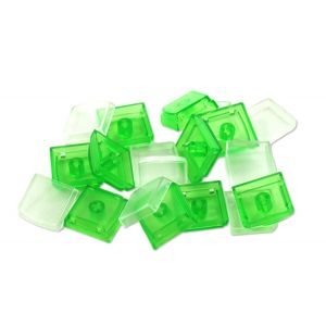 Green Single Keycaps (10 pack)