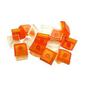 Orange Single Keycaps (10 pack)