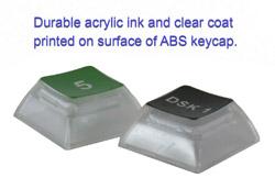 Clear Acrylic Keys