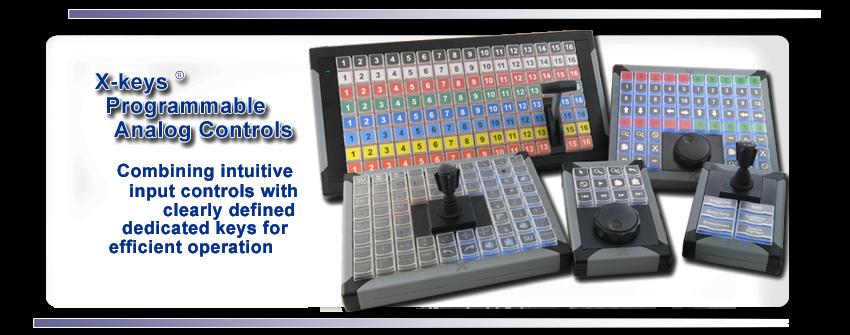 X-keys Programmable Analog Controls