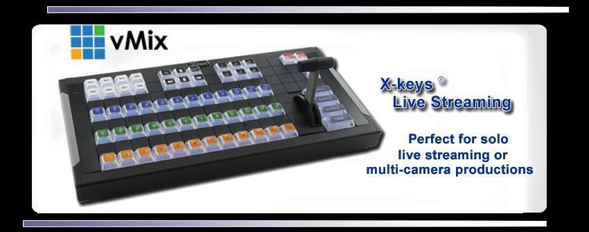 X-keys Live Streaming