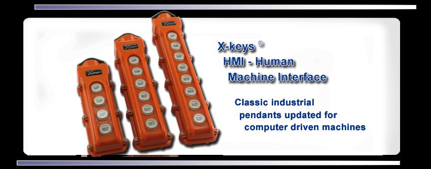 X-keys Human Machine Interface