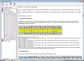 HID Data Report