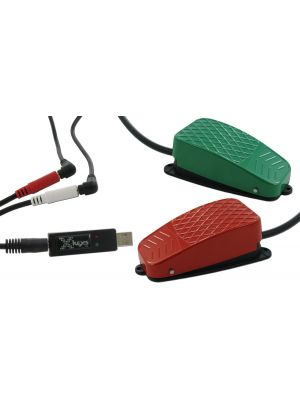USB 3 Switch Interface bundled with the Green, and Red Commercial Foot Switches