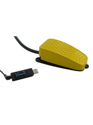 USB 3 Switch Interface bundled with the Yellow Commercial Foot Switch