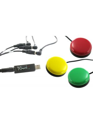 USB 3 Switch Interface bundled with the Red, Green, and Yellow Orby Switches