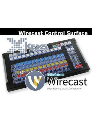 Wirecast Control Surface by X-keys®