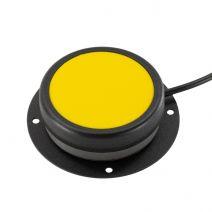X-keys Yellow One Button and Mounting Kit Bundle