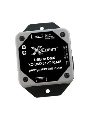 USB to DMX512 Control Transmitter - RJ45 Connector