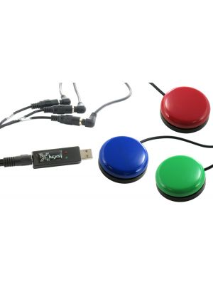USB 3 Switch Interface bundled with the Red, Green, and Blue Orby Switches
