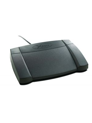 X-keys XK-3 USB Foot Pedal - Front Hinged