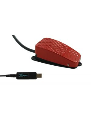 USB 3 Switch Interface bundled with the Red Commercial Foot Switch