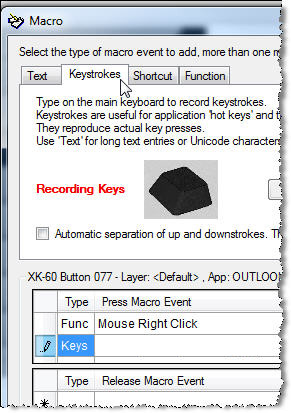 MW3 Keystrokes