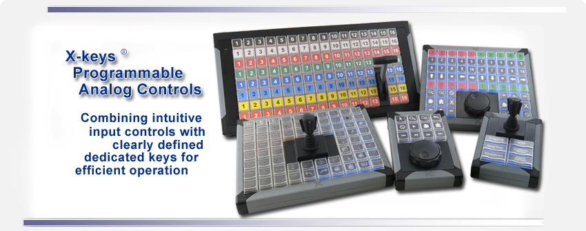 X-keys Programmable Analog Controls