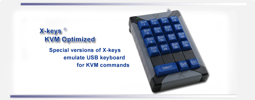 X-keys for KVM Control