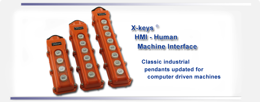 X-keys Human Machine Interface