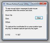 Mouse Cursor Utility